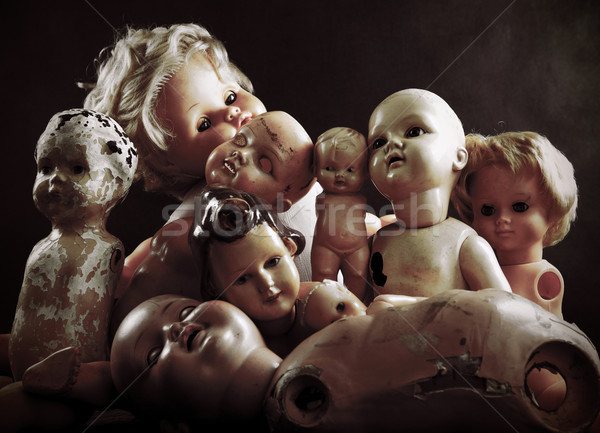 Creepy dolls Stock photo © sqback