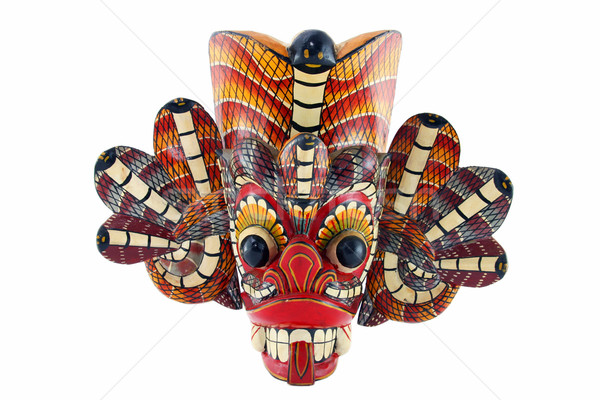 Tradizionale maschera diavolo Sri Lanka Foto d'archivio © sqback