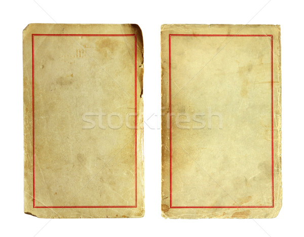 Old and dirty sheet of paper Stock photo © sqback