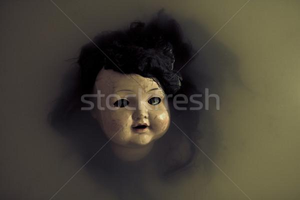 Creepy doll face  Stock photo © sqback