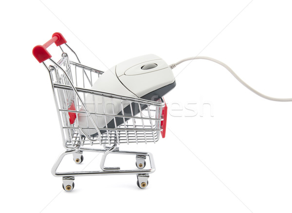 Online internet shopping Stock photo © sqback