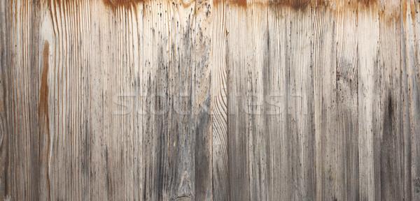 Eski ahşap doku yatay ahşap arka plan model Stok fotoğraf © sqback