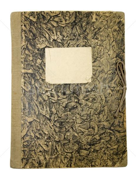 Old paper folder Stock photo © sqback