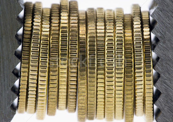 Financial squeeze Stock photo © sqback