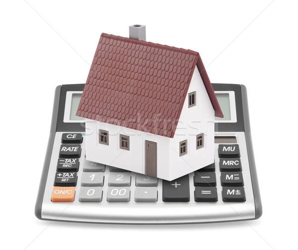 Mutuo mutui business costruzione costruzione modello Foto d'archivio © sqback