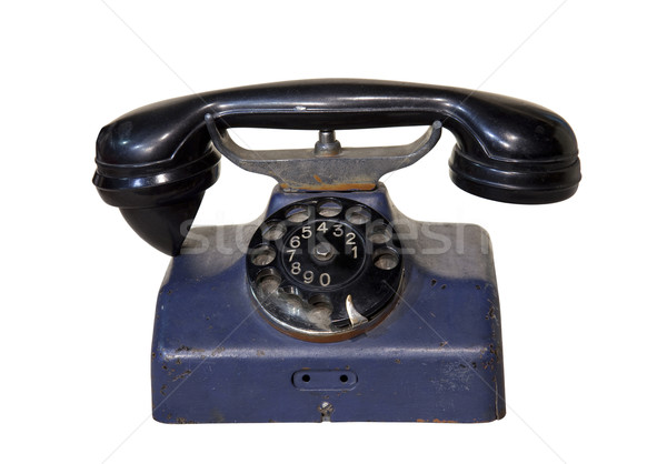 Velho telefone escritório serviço vintage Foto stock © sqback