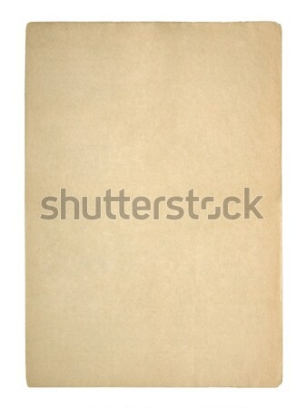 Old sheet of paper Stock photo © sqback