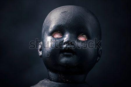 Raccapricciante bambola faccia acqua retro buio Foto d'archivio © sqback