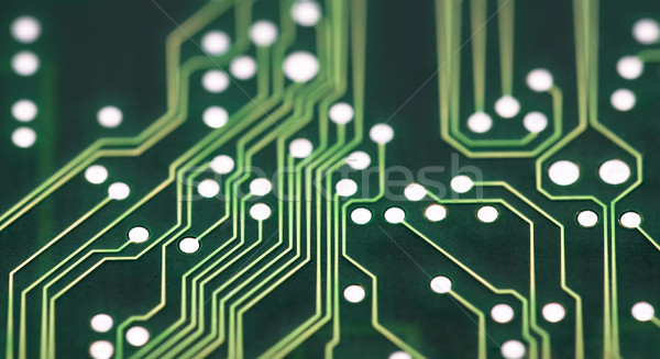 Nyáklap kapcsolatok absztrakt tudomány digitális kártya Stock fotó © sqback
