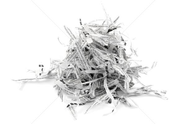 Shredded paper strips Stock photo © sqback