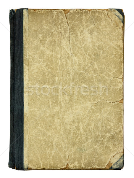Old Book Cover with clipping path. Stock photo © sqback