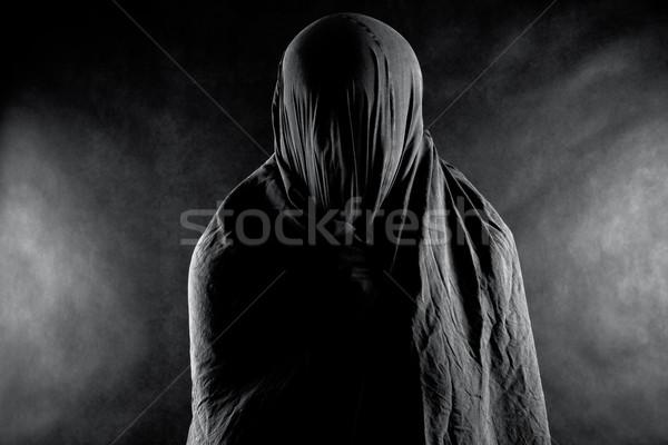 Fantasma buio morte silhouette morti paura Foto d'archivio © sqback