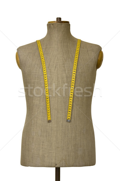 Mannequin torso with clipping path Stock photo © sqback