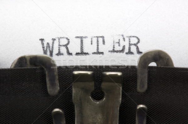 Stock photo: Writer
