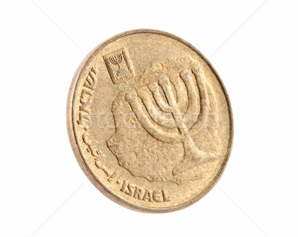 Ten Israeli New Sheqel cents Stock photo © sqback