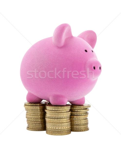 貯金 コイン ビジネス 金融 銀行 ストックフォト © sqback
