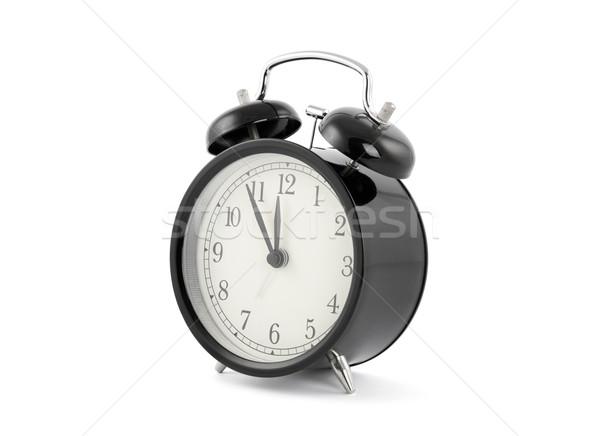 Negro edad estilo despertador reloj Foto stock © sqback