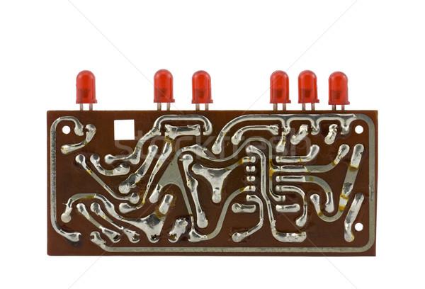 Circuit board licht technologie elektriciteit boord Stockfoto © sqback