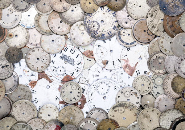 Antique watch faces Stock photo © sqback