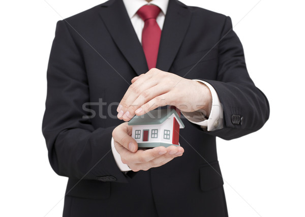 Protect Your House. Clipping path included. Stock photo © sqback