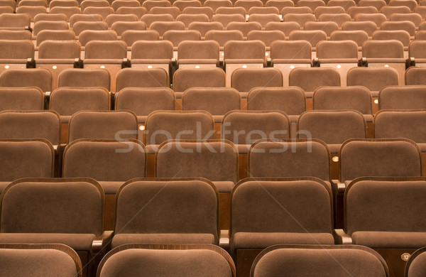 Seats in a theater Stock photo © sqback