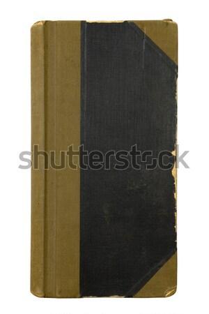 Eski kitap kapak doku dizayn arka plan Stok fotoğraf © sqback