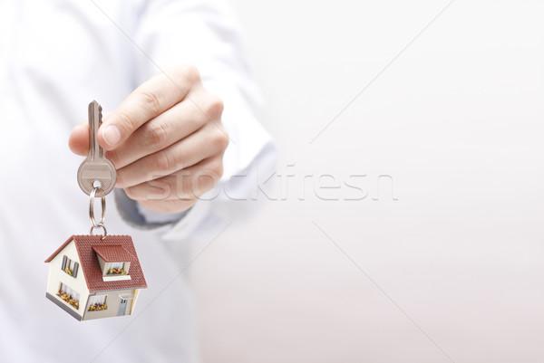 家 キー 手 ホーム ドア にログイン ストックフォト © sqback