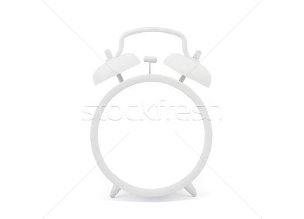 Eski stil beyaz çalar saat Retro Stok fotoğraf © sqback