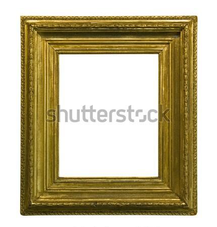 Antiguos marco de imagen metal marco pintura Foto stock © sqback