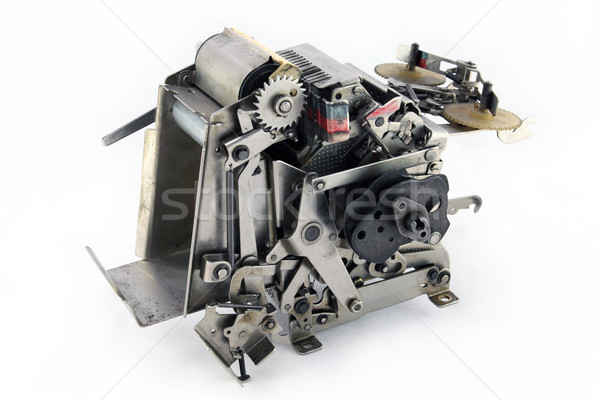 Robot dog ( part of typewriter ) Stock photo © sqback