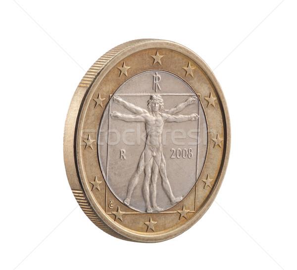 Foto stock: Italiano · um · euro · homem · corpo