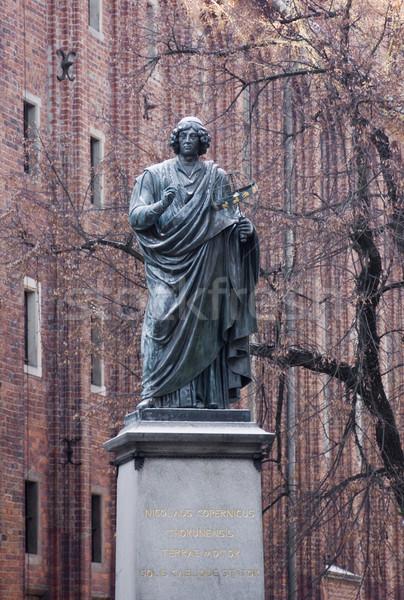 Statue of Nicolas Copernicus Stock photo © sqback