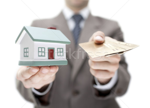 Invest in real estate concept Stock photo © sqback