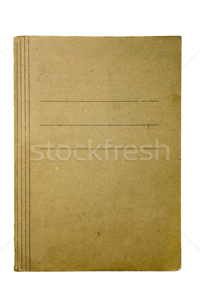 Old and dirty paper folder Stock photo © sqback