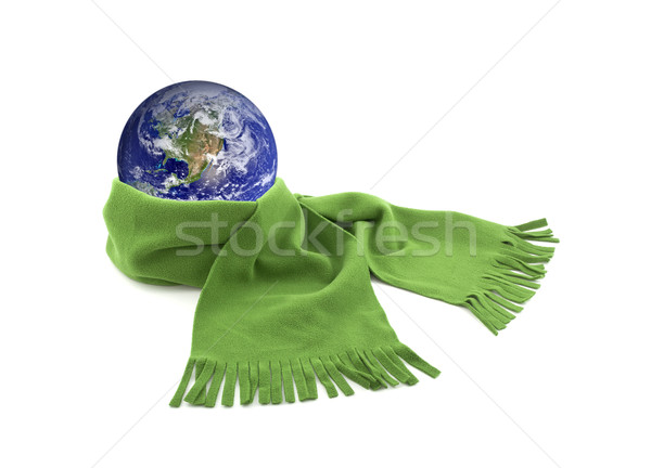 Protect the Earth. Earth image provided by Nasa. Stock photo © sqback