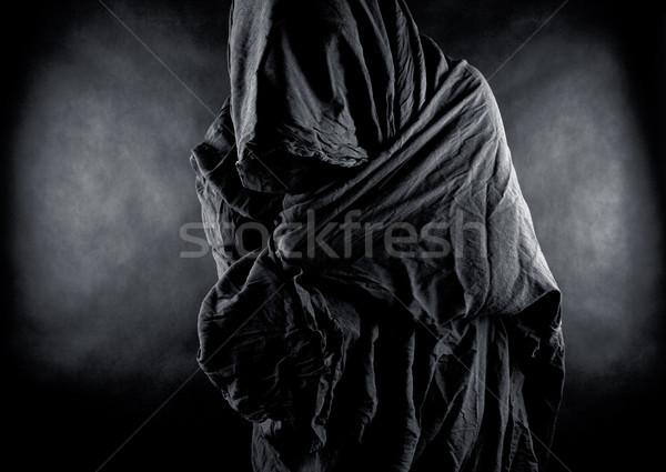 Stock photo: Ghost in the dark