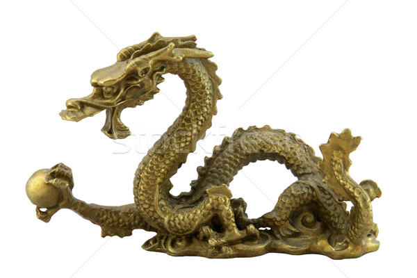 Chinese imperial dragon Stock photo © sqback