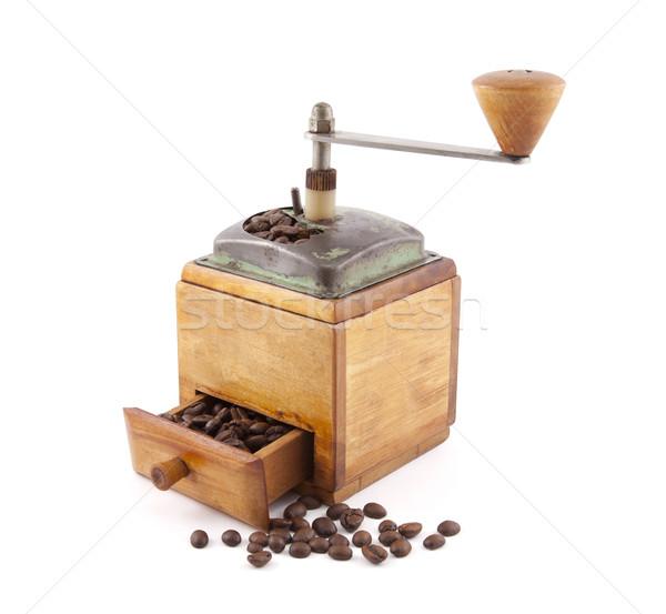 Edad café madera cocina Foto stock © sqback