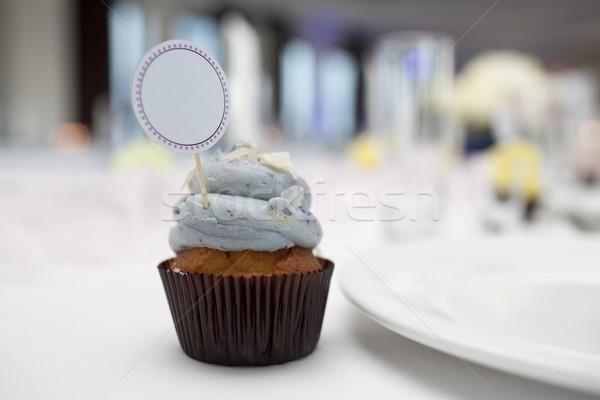 Foto stock: Lugar · tarjeta · boda · mesa · alimentos
