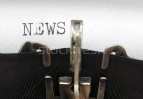 Stock photo: News