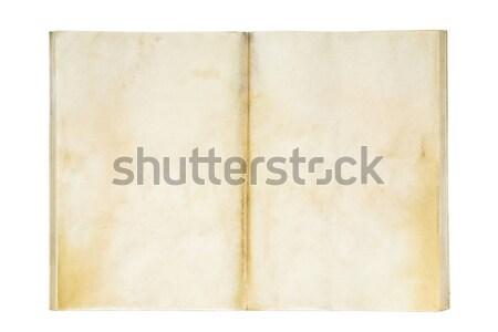 オープン 古い 練習帳 背景 ノートブック ストックフォト © sqback