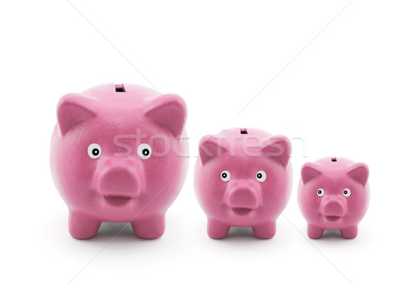 Three piggy banks  Stock photo © sqback