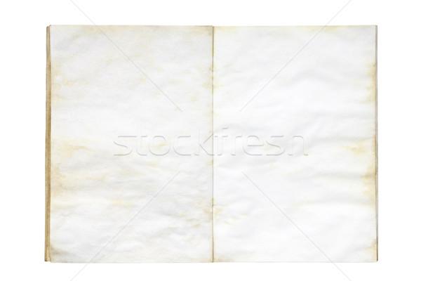 Abierto edad libro fondo Foto stock © sqback