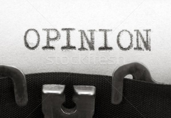 Opinião internet escrita informação máquina de escrever nota Foto stock © sqback