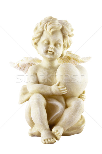 Cupid isolated on white Stock photo © sqback