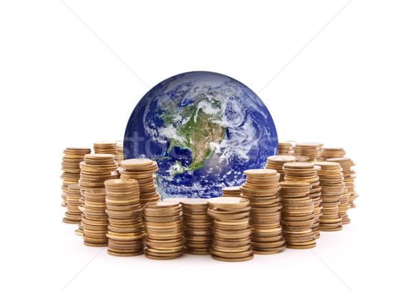 świat stałego ceny ziemi obraz niebieski Zdjęcia stock © sqback