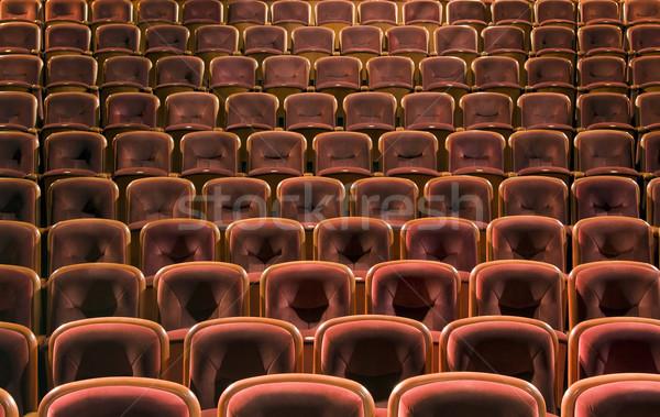 Theater seats Stock photo © sqback
