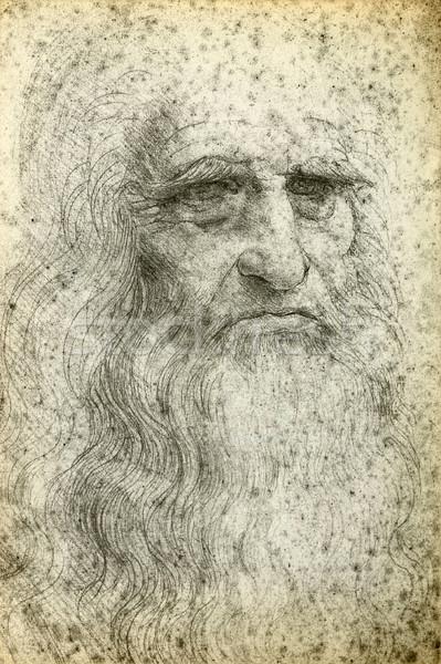 Leonardo da Vinci Self-Portrait, 1512 Stock photo © sqback