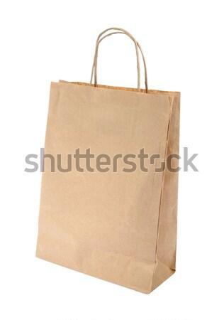 ショッピング 紙袋 ボックス ショップ 袋 ストックフォト © sqback