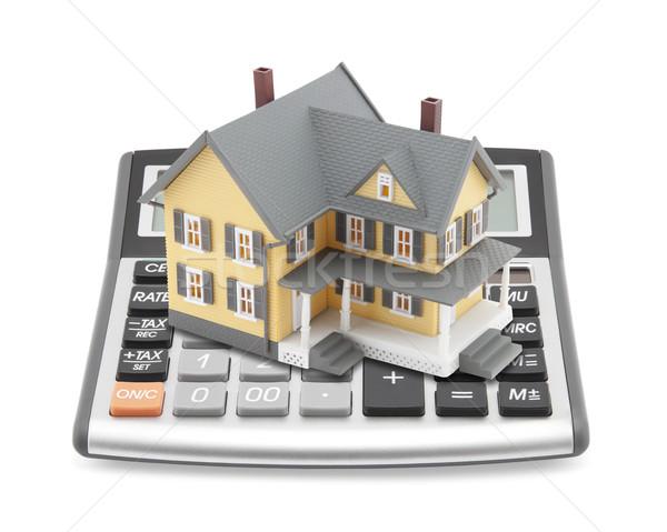 Mutuo mutui business casa costruzione costruzione Foto d'archivio © sqback